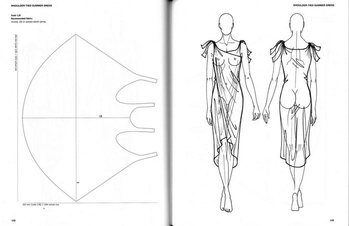 Простые выкройки пляжных платьев 1