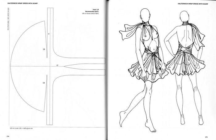 Простые выкройки пляжных платьев 6