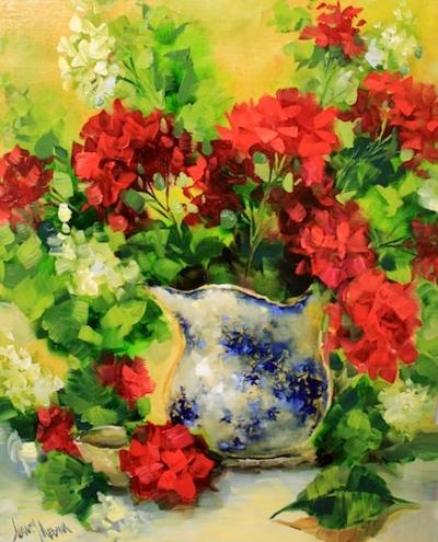 new_growth_geraniums_by_texas_flower_artist_nancy__floral__still_life__1829804a3f0c7309f04aab44801e42eb (400x495, 173Kb)