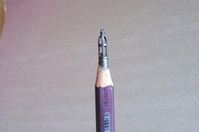 миниатюры из карандашного грифеля фото 4 (680x452, 26Kb)