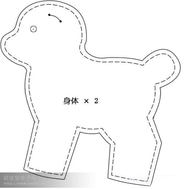 выкройки игрушек и кукол (21) (588x605, 42Kb)