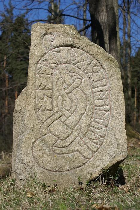 Рисунок рунический камень