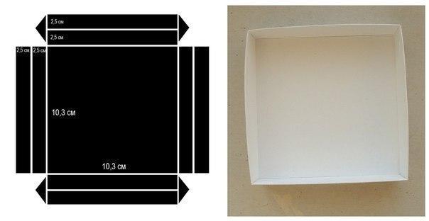 Как сделать коробку своими руками без крышки