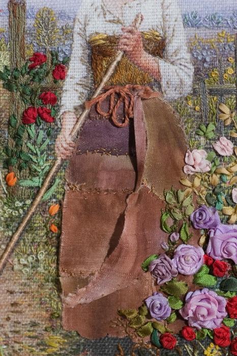 Наталья полозкова вышивка лентами