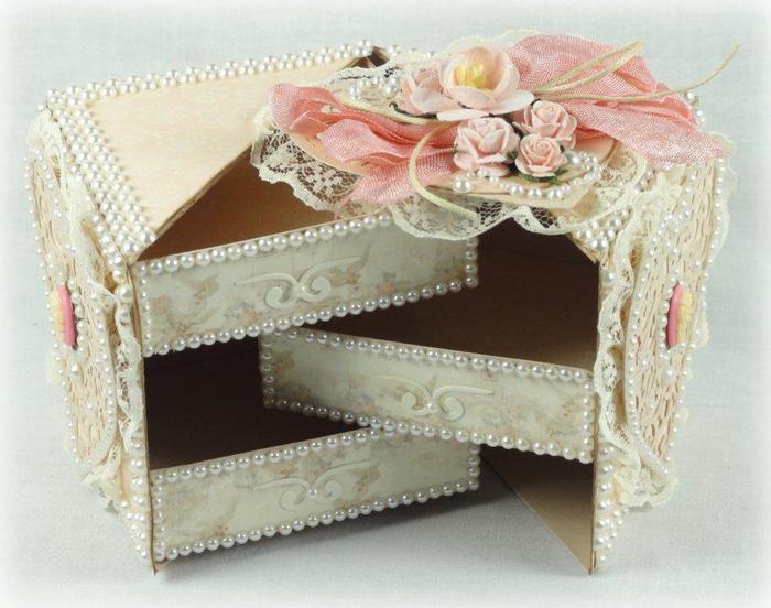 Шкатулки коробочки из бумаги