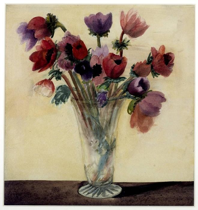 Abraham Harris BENSON 1878–1929.anemones 1929 (660x700, 329Kb)