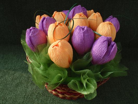 цветы из конфет (1) (530x397, 254Kb)
