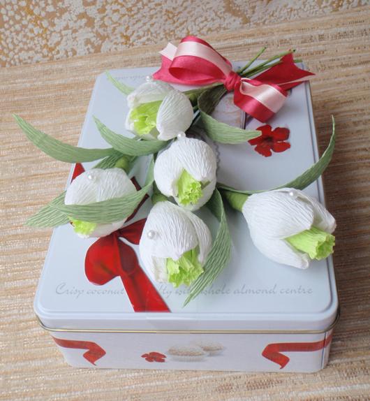 цветы из конфет (24) (530x574, 340Kb)