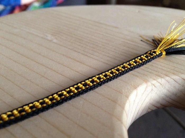 Плоский шнур кумихимо (1)