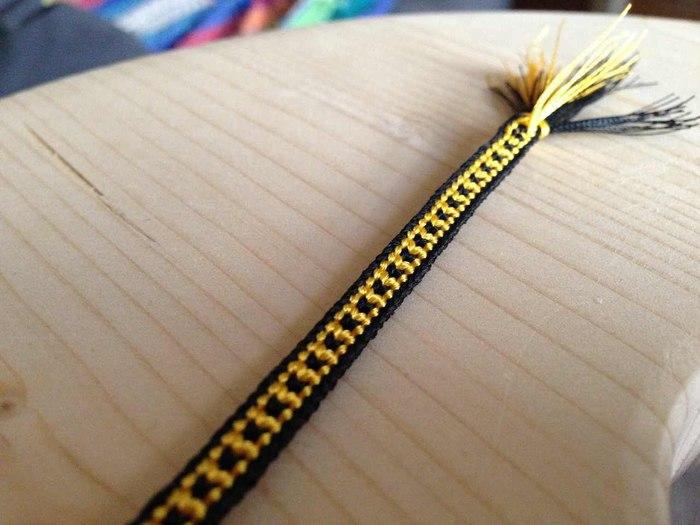 Плоский шнур кумихимо (2)