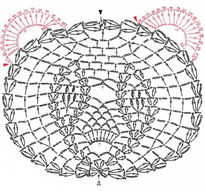 Мотив МИШКА крючком (700x651, 122Kb)