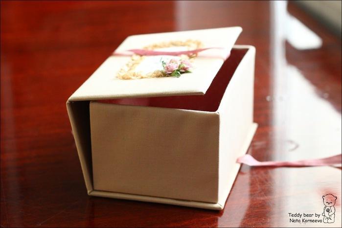 Украсить подарочную коробку своими руками из картона