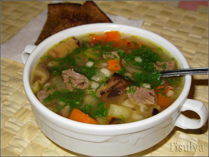 рецепт вкусного супа с крупой