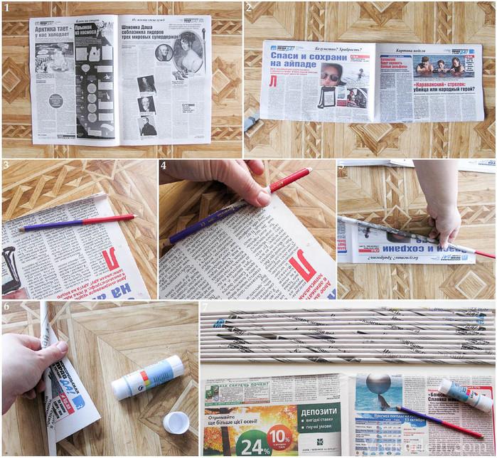 Игрушки из газеты своими руками 88