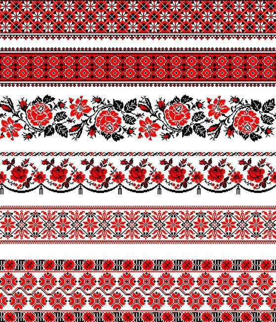 украинской вышивке нашла и