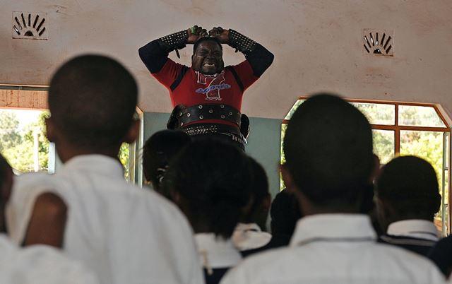 Самый сильный человек в Кении