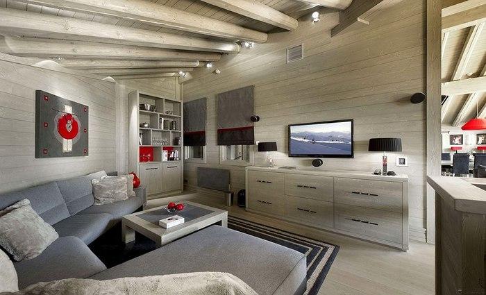 Дизайн интерьер деревянных домов фото