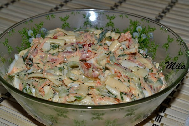 салат трудовые будни рецепт с фото