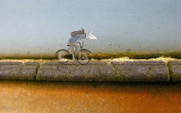 прикольные картинки художницы Лотте ван Дийк 2 (700x437, 100Kb)