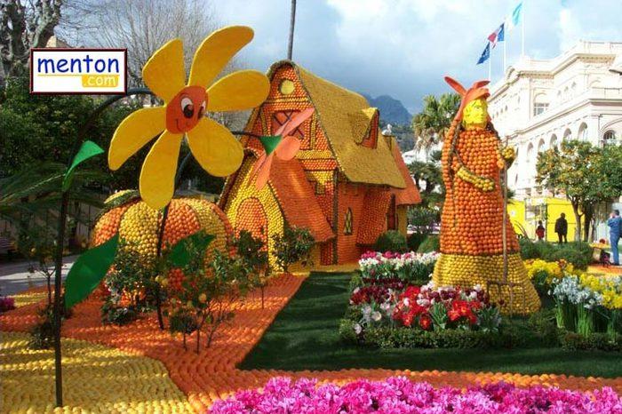 фестиваль лимонов в ментоне фото (700x466, 92Kb)