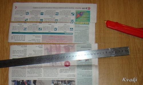 плетение из газет как крутить трубочки (3) (500x297, 111Kb)