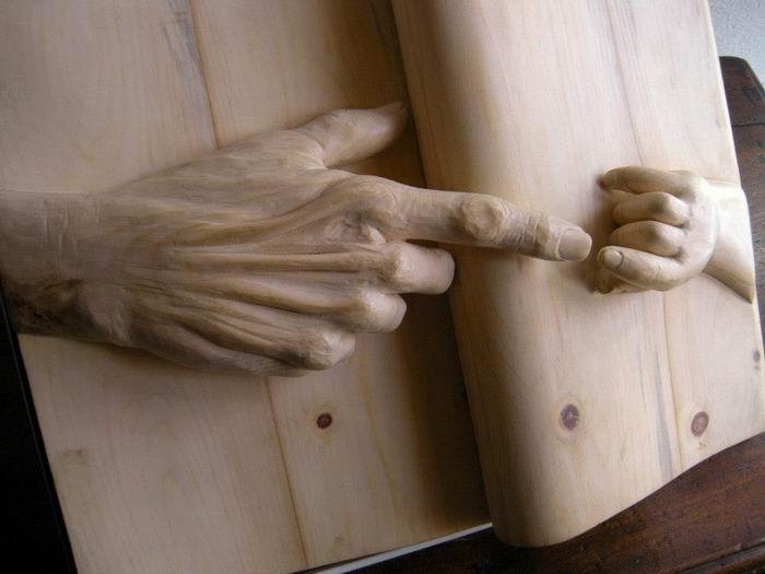 деревянные скульптуры Nino Orlandi 13 (700x525, 39Kb)