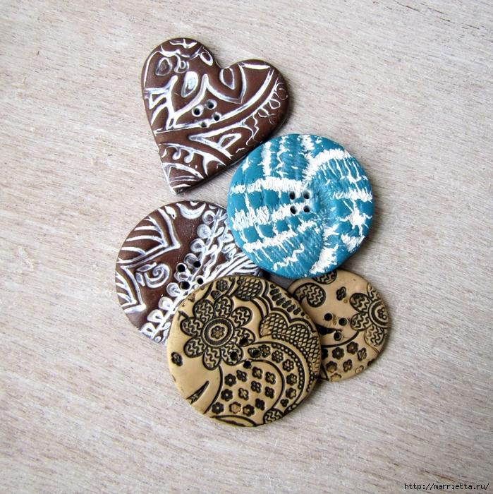декоративные пуговицы из полимерной глины (21) (699x700, 497Kb)