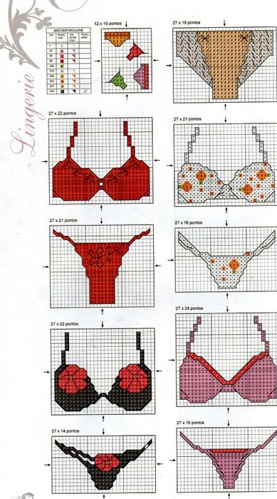 Дамские штучки (вышивка)