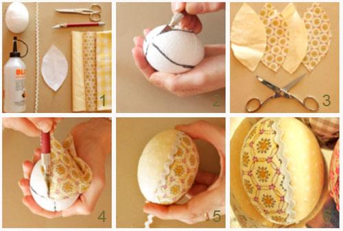 Как красить яйца на пасху своими руками - Поделки