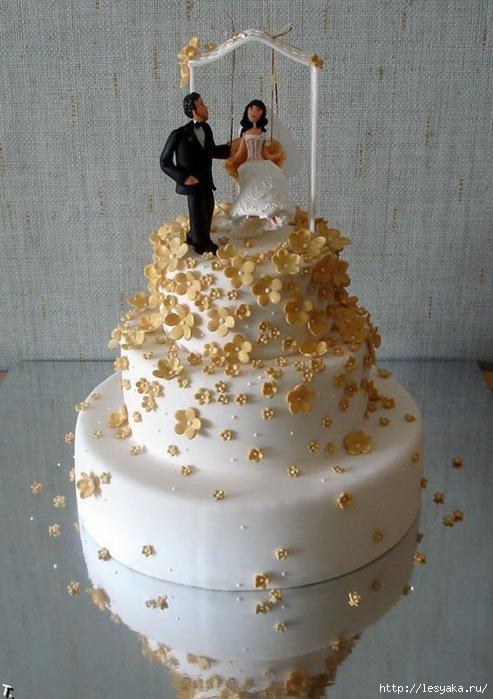 фото свадебных тортиков