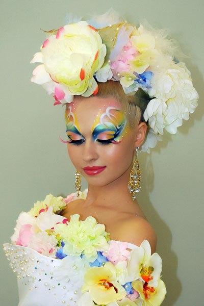 1-ый открытый Чемпионат по декоративной косметике.