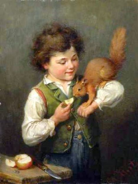 knabe-mit-eichkaetzchen-boy-with-squirrel (469x624, 36Kb)