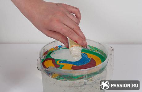 Витражные краски своими руками клей пва и гуашь 82
