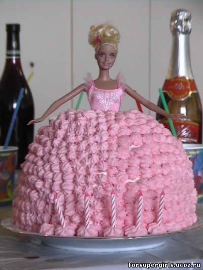 Торт для куклы своими руками