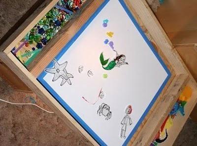 Стол для рисования песком своими руками фото