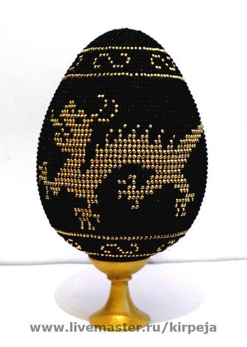 """Яйца ручной работы.  Ярмарка Мастеров - ручная работа  """"Танцующий дракон ,крадущийся тигр  """".  Handmade."""