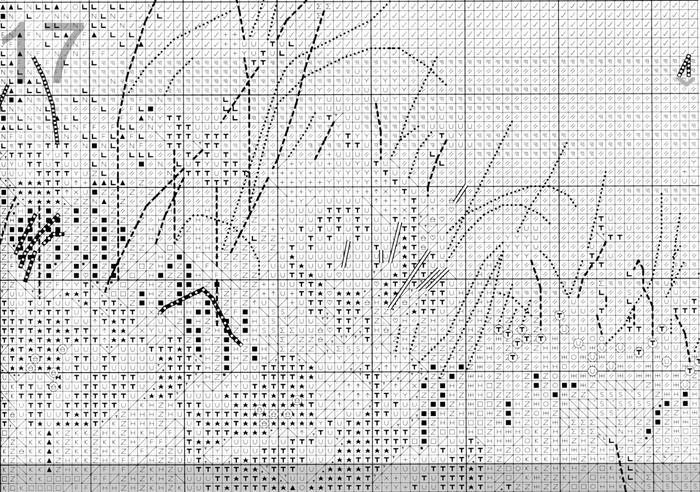 Схема вышивки Маки у моря (Anchor) 5 из 9.