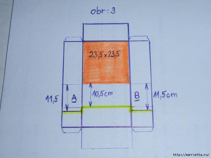 угловая корзинка из газет (16) (700x525, 83Kb)