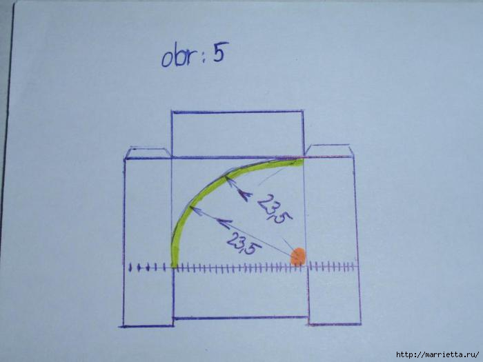 угловая корзинка из газет (18) (700x525, 77Kb)