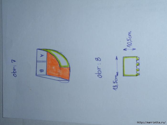 угловая корзинка из газет (20) (700x525, 59Kb)