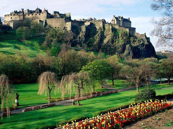 Эдинбургский замок, Шотландия (604x453, 98Kb)