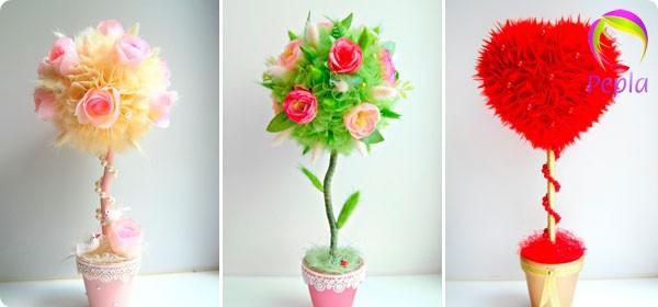 Как сделать цветок из дерева своими руками