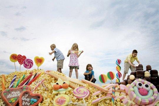 прикольные фото детей Jan Von Holleben 9 (540x360, 37Kb)