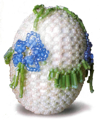 Бисероплетение оплетение яиц - Делаем фенечки своими руками.