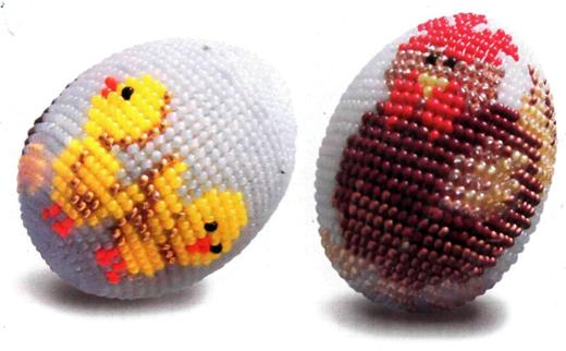 Такой способ применяется для получения чехлов и оплеток различных предметов - пасхальных яиц, вазочек, шкатулок и т...