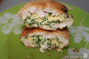 Котлеты фаршированные яйцом и сыром
