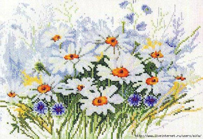Кованая цветочная корзина