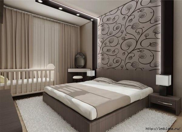 дизайн идея спальня (600x434, 118Kb)
