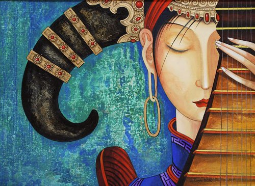 монгольская живопись: