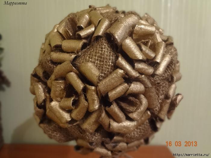 топиарий из мешковины и яичных лотков (29) (700x525, 231Kb)